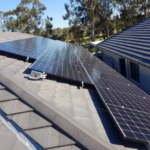 The solar panel that generates energy day and night